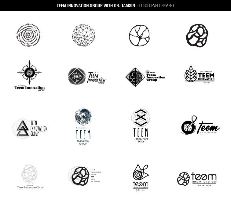 Teem Innovation Group logo development