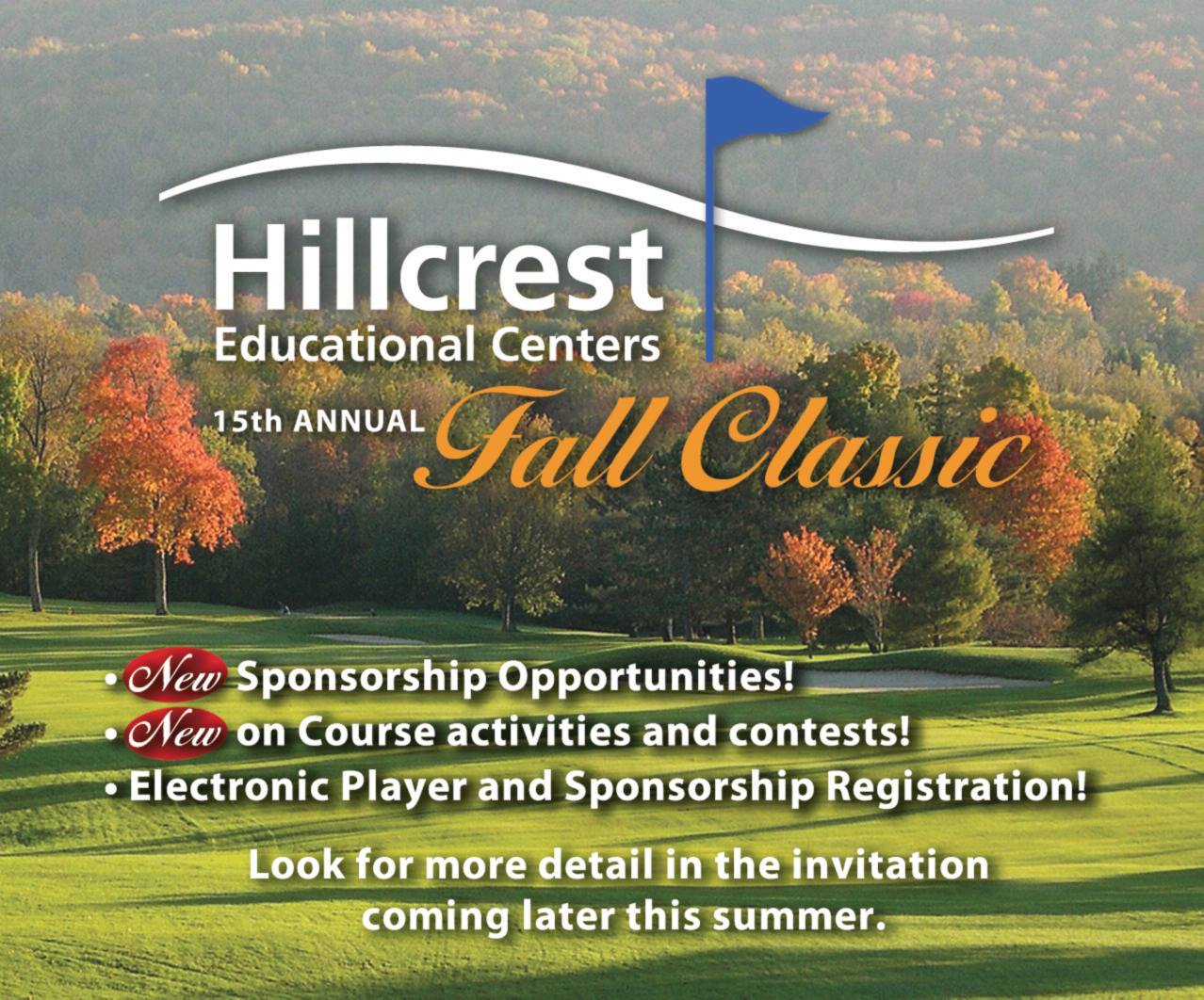 Hillcrests Spring Gala And Fall Classic Golf Tournament, Berkshires, Western Mass