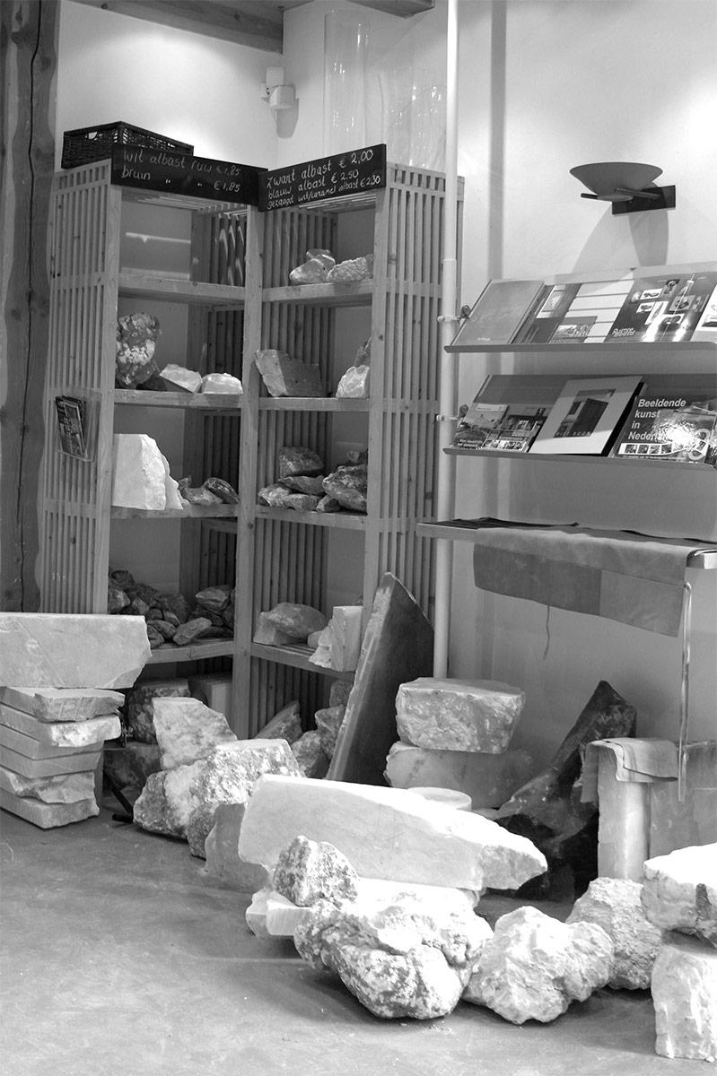 Albast stenen winkel