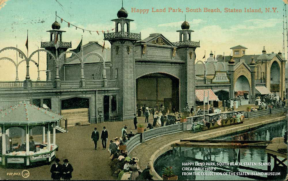 Image result for happyland amusement park staten island