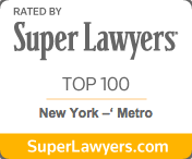 Super lawyers top 100 logo
