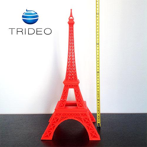 Impresión 3D: Torre Eiffel