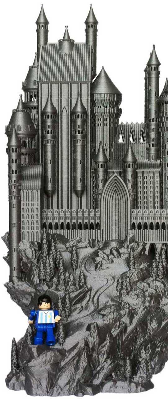 Impresión 3D castillo