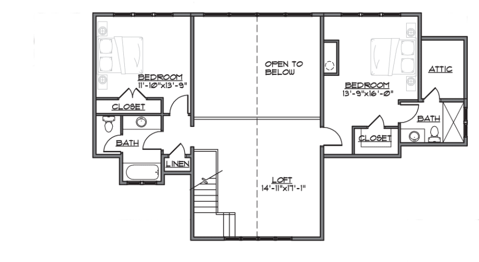 evergreen plan - floor 2