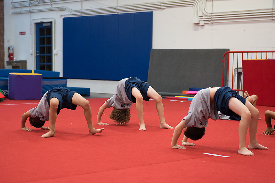 Cognitive skills in gymnastics you learn
