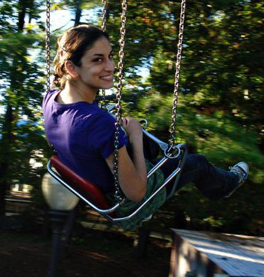 Swings are great.