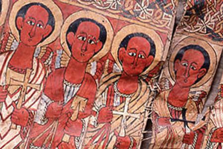 Ethiopian Heritage Fund - Restoration of 15th century folding parchment at Hayq - image
