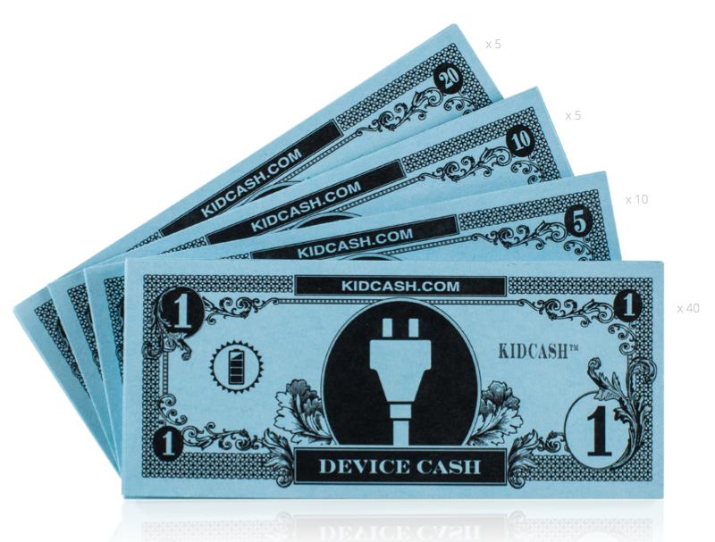 Device Cash - Teach kids money, focus, discipline and more with Kid Cash