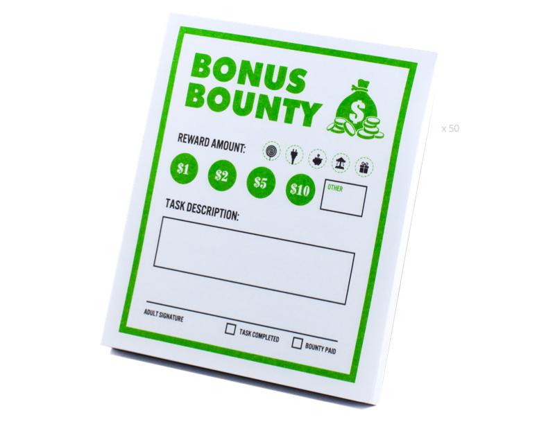 Bonus Bounty - Teach kids money, focus, discipline and more with Kid Cash