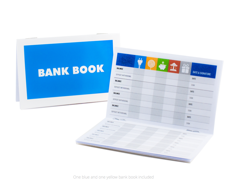 Bank Books - Teach kids money, focus, discipline and more with Kid Cash