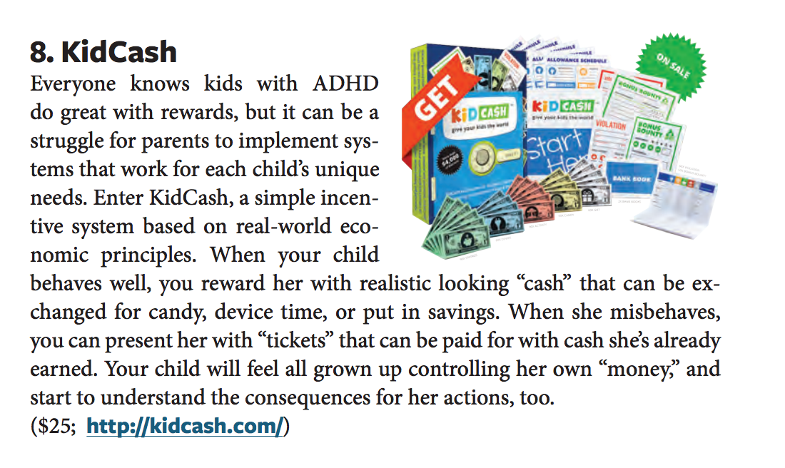 additude magazine adhd - Teach kids money, focus, discipline and more with Kid Cash