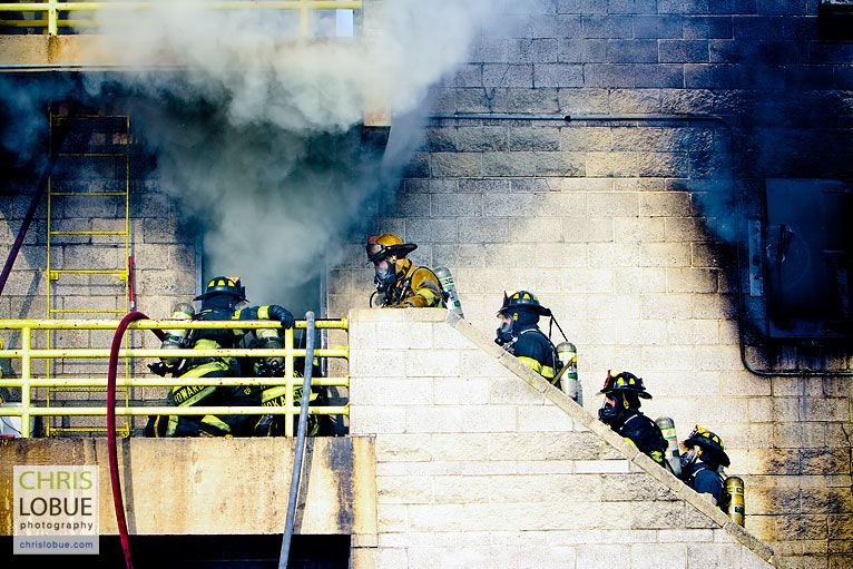 Firefighter training facility - Chris Lo Bue Industrial Photography