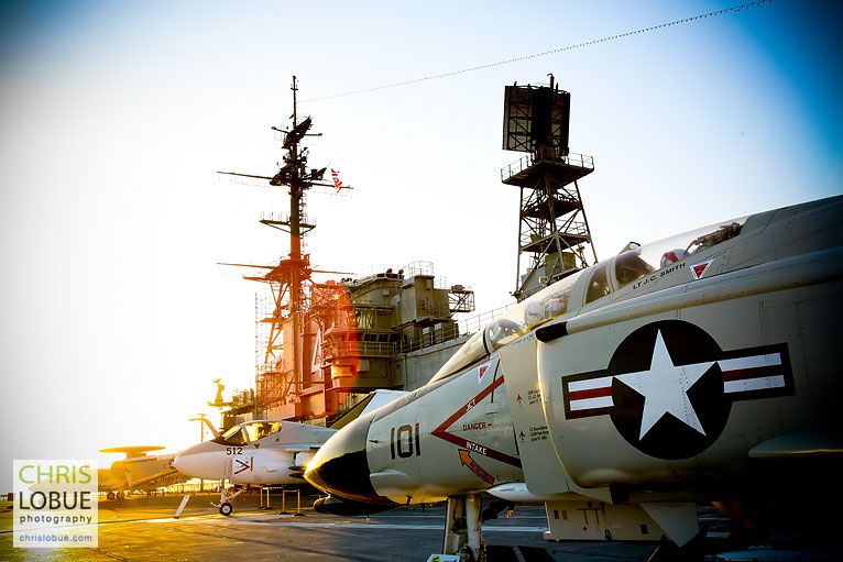 Architectural Photography - San Diego Aircraft Carrier Midway - Chris Lo Bue Photography