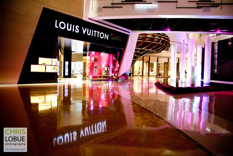 Louis Vuitton Store Interior Photography - Aria Las Vegas- Chris Lo Bue Photography