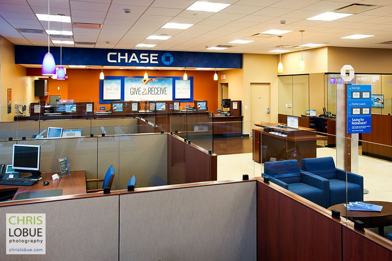 Architectural photography - Chase Bank Brick, New Jersey - Chris Lo Bue Photography