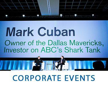 Corporate Event Photography - Mark Cuban