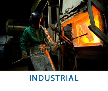 Industrial Photography - Steel Workers