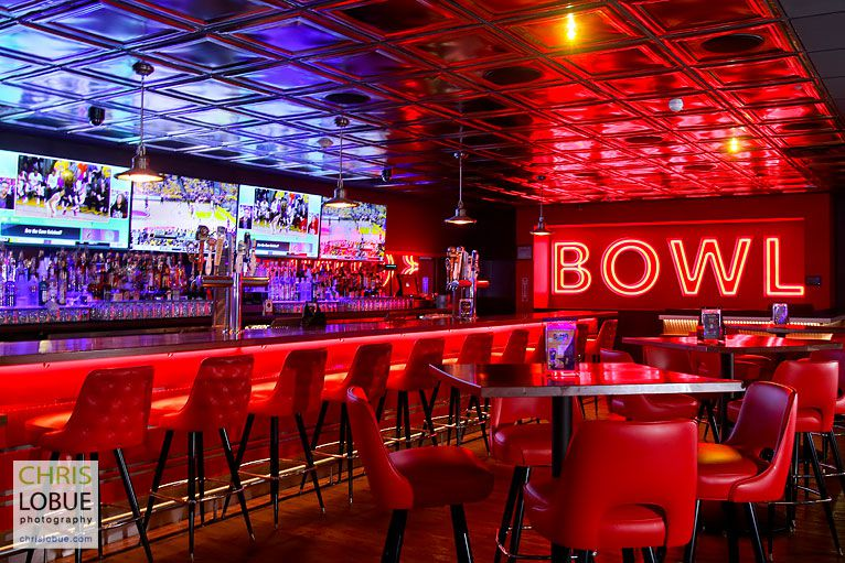Retail Interior Photography - New York Bowling - Chris Lo Bue Photography