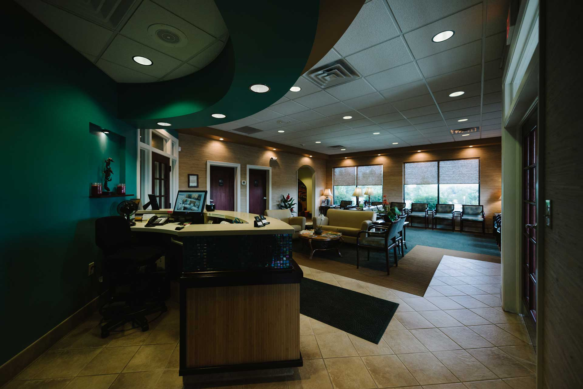 Photo of Liberty Family Dentistry lobby