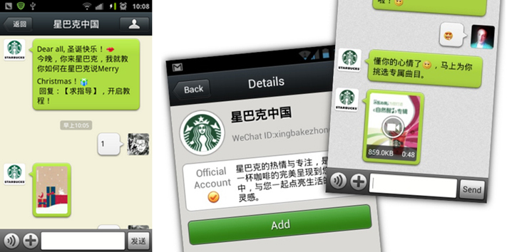 WECHAT MEMBERSHIP & DIRECT COMMUNICATION WITH FOLLOWERS
