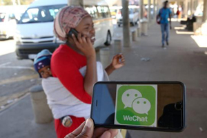 China's WeChat takes on WhatsApp in Africa