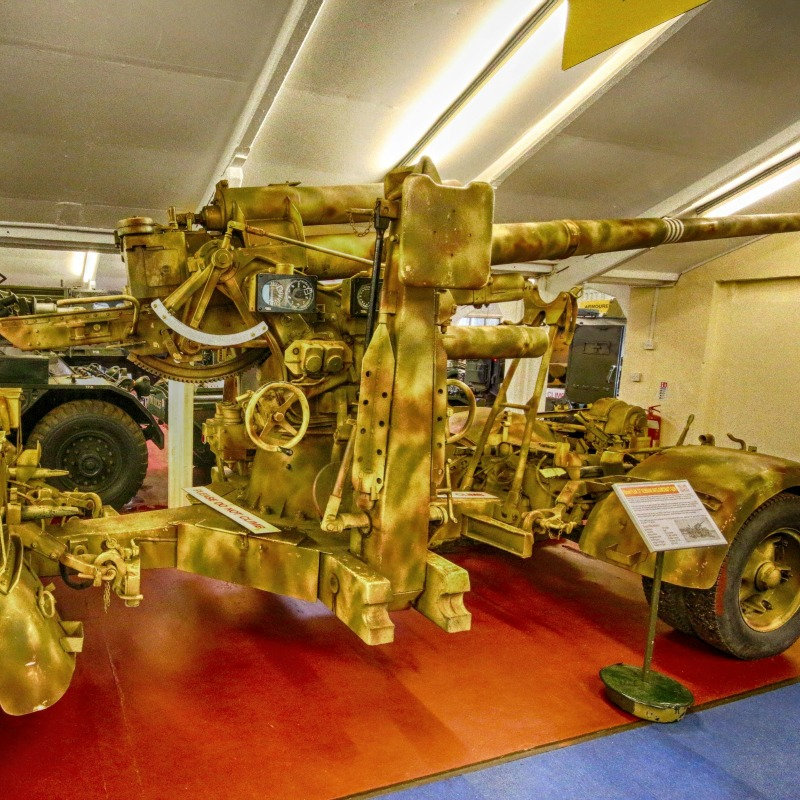 85mm Flak 37 Anti Aircraft @ The Muckleburgh Collection NR25 7EG