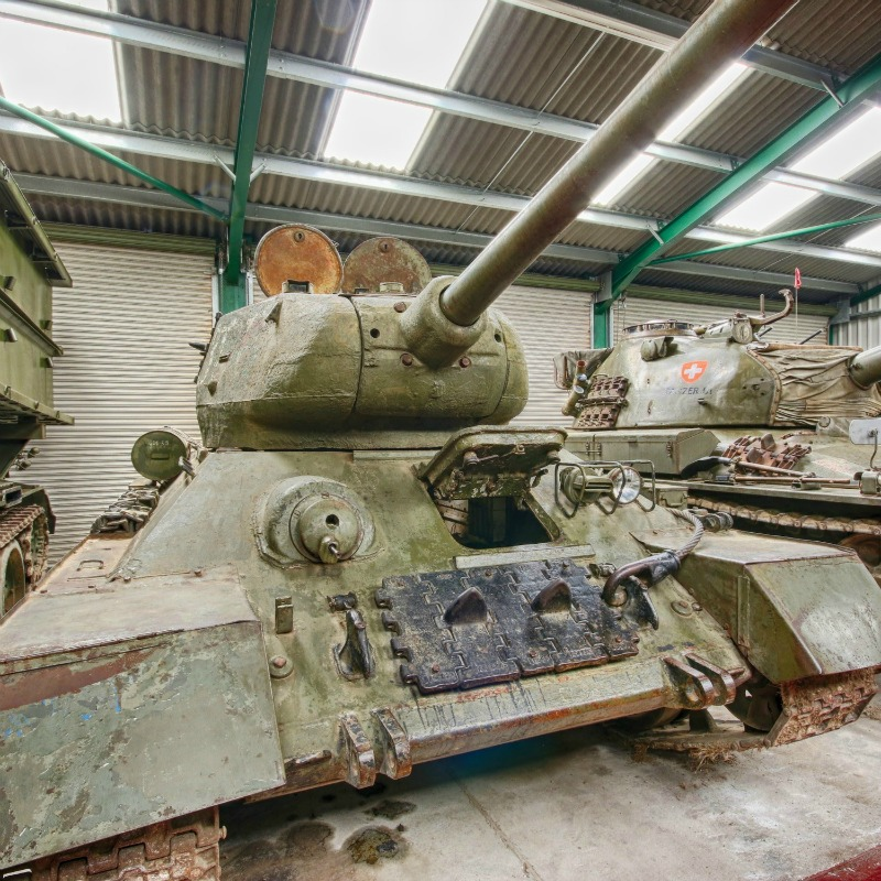 T34 Tank @ The Muckleburgh Collection NR25 7EG