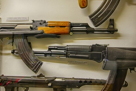AK47 Kalashnikov Machine Gun @ Muckleburgh Collection NR25 7EH
