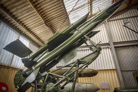 English Electric Thunderbirds Missile @ Muckleburgh Collection NR25 7EH