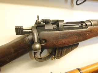 Lee Enfield@ The Muckleburgh Collection NR25 7EG