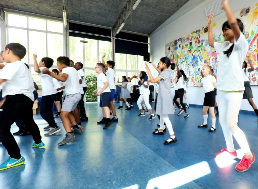 Dance Fit Workshop for Schools