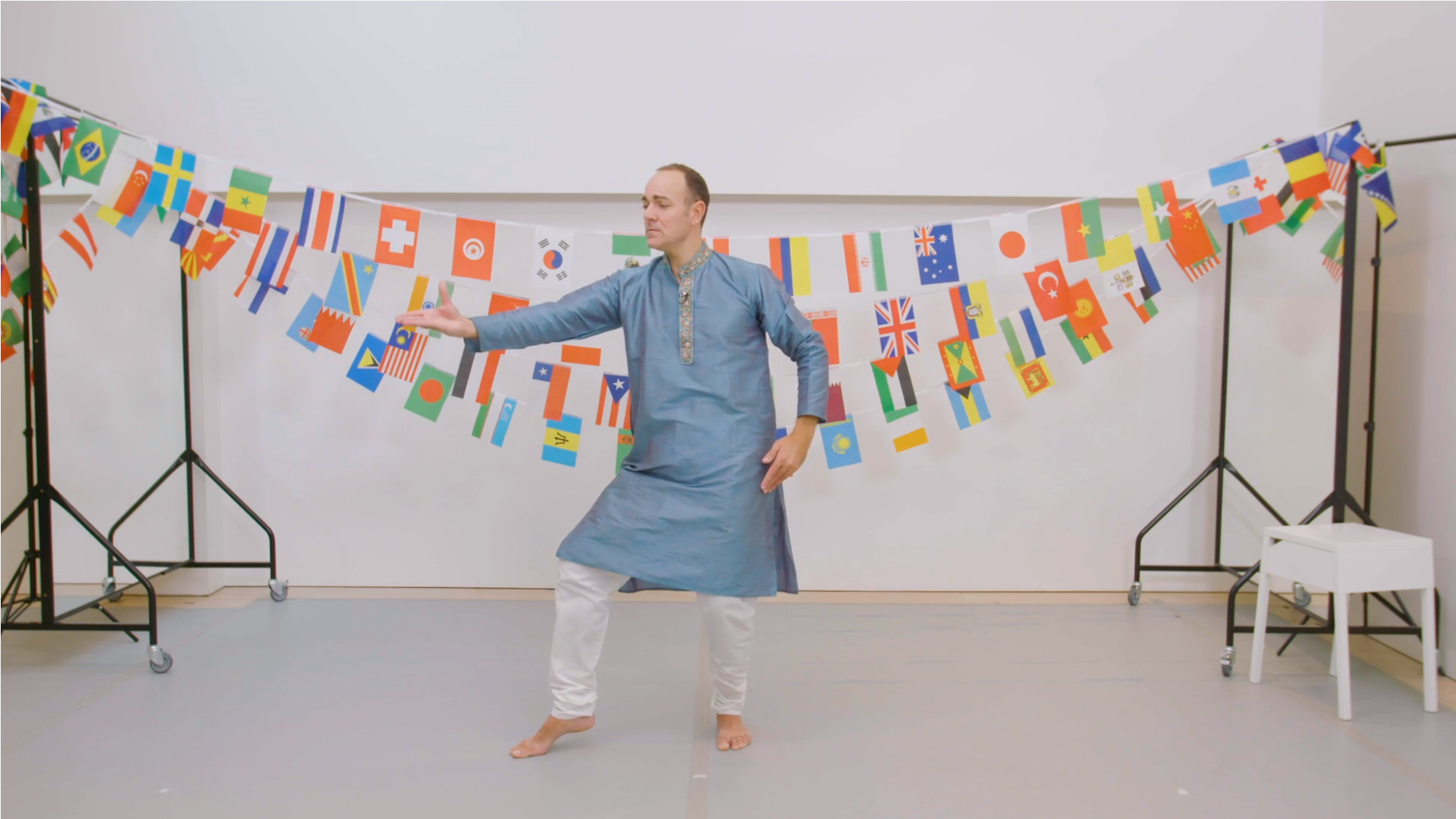Indian Bollywood Dance Workshop Video