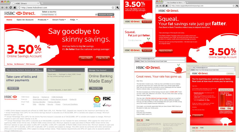 Roni Sebastian // HSBC Direct // Piggy Campaign