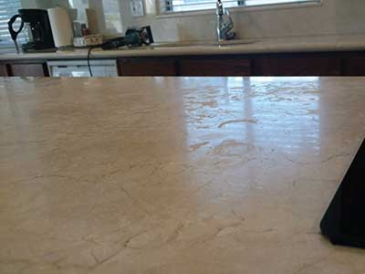 Marble Countertop Cleaning