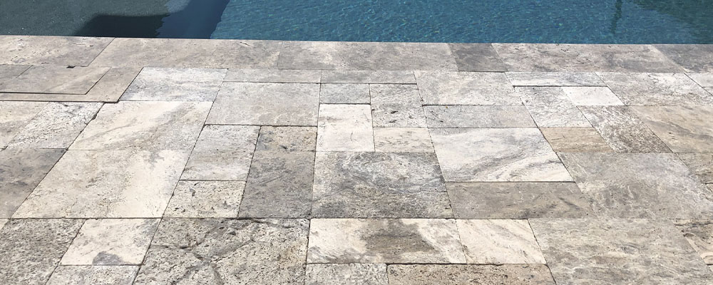 Travertine Paver Cleaning