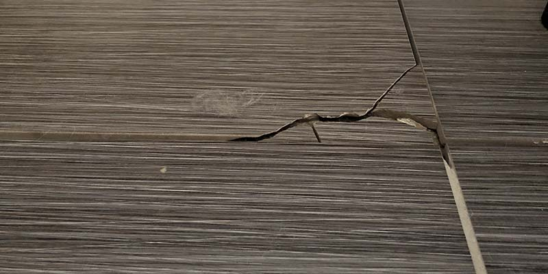 Cracked Grout Repair