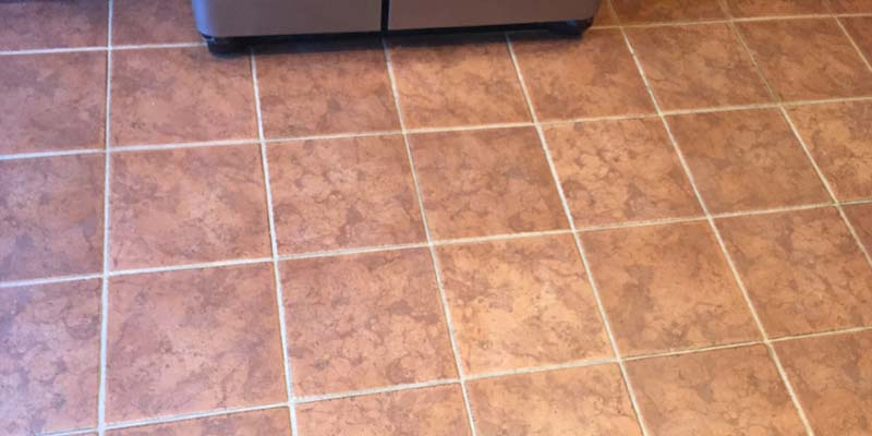 grout cleaning after