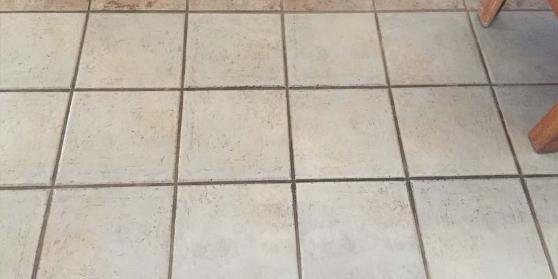 old tile cleaning