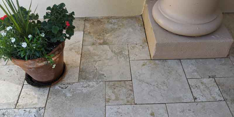 Travertine Tile Sealing tempe