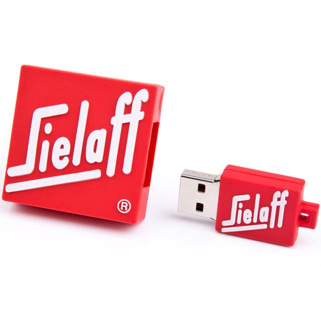2D USB флешка из резины