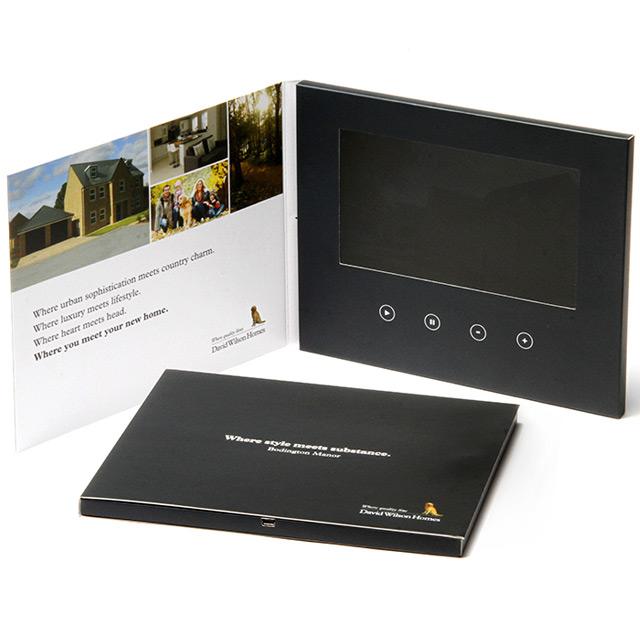 Видео-открытка с LCD экраном