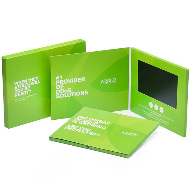 Видео-брошюра с LCD экраном