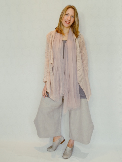 Funky Linen Pants and Miko Jacket