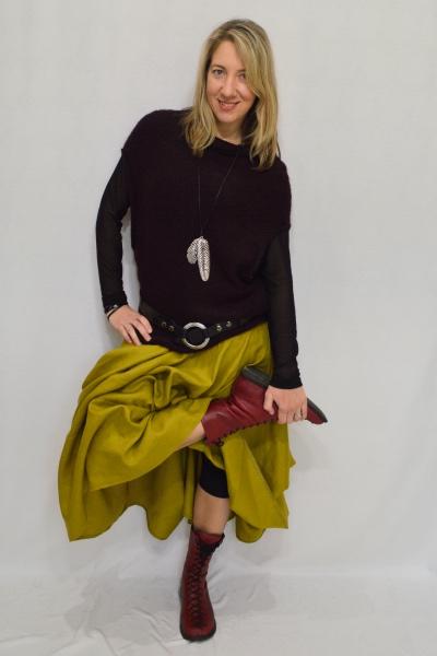Linen Skirt - $185