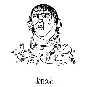 Jonah Illustration by Mychal Handley
