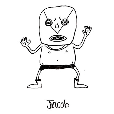 Jacob Illustration by Mychal Handley