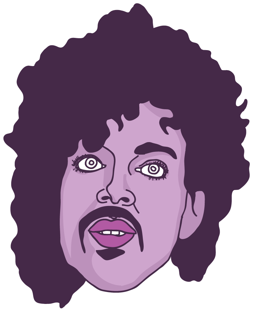 Prince Floating Head - Mychal Handley