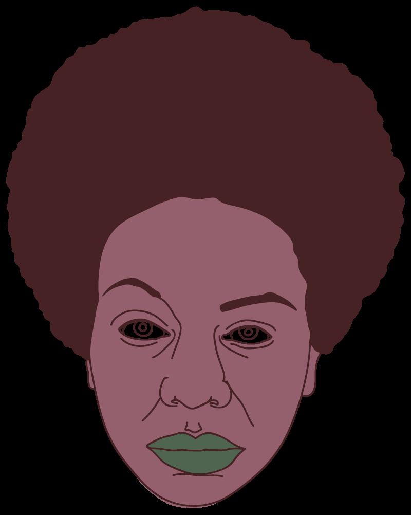 Nina Simone Floating Head - Mychal Handley