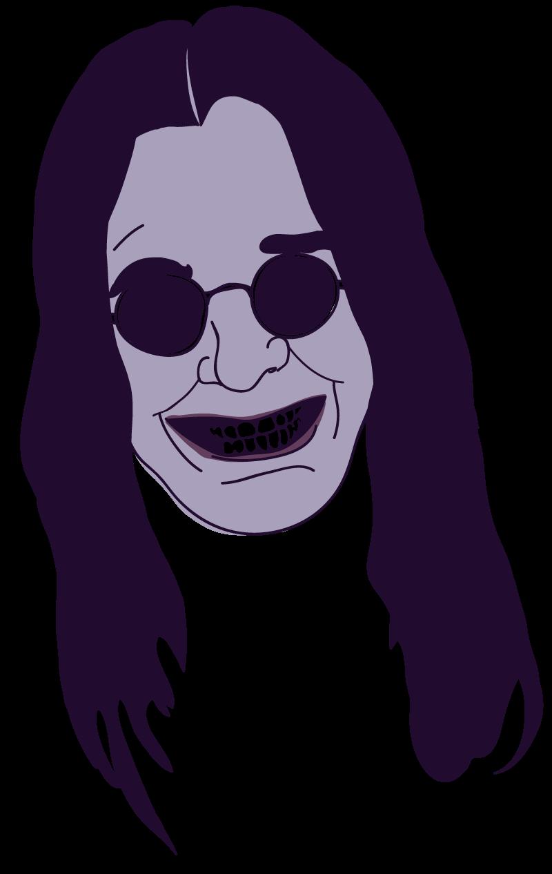 Ozzy Osbourne Floating Head - Mychal Handley