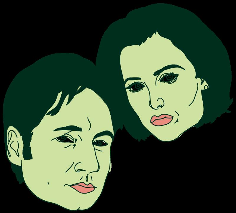 X-Files Floating Head - Mychal Handley